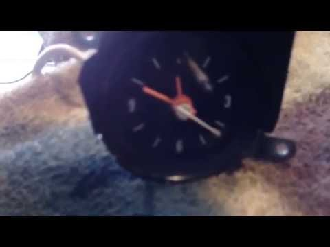 '79 chevy clock repair and bench test