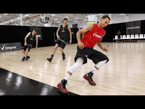 Stephen Curry's Pre-Draft Workout - Full...