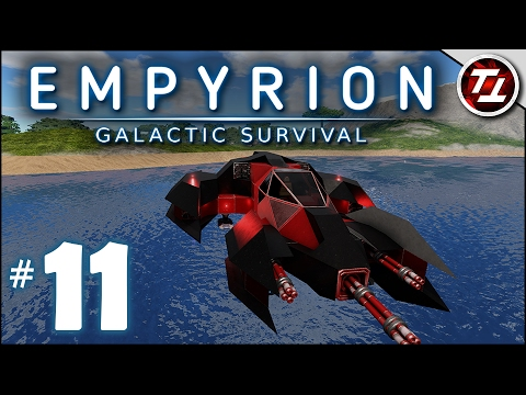 Empyrion: Galactic Survival Gameplay - #11 - Building a Smal