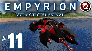 Empyrion: Galactic Survival Gameplay - #11 - Building a Small Vessel! - Let's Play