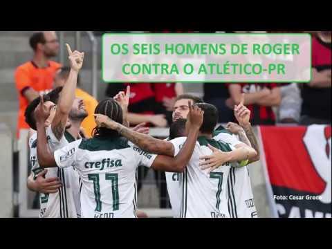 """""""Os seis homens de Roger Machado"""" foi a estratégia que fez a diferença contra o Atlético-PR"""