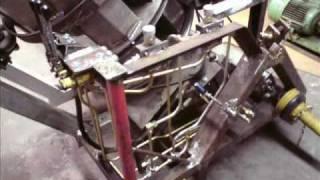 Repeat youtube video Trommelsäge, Revolversäge + Förderband (Eigenbau)