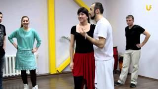 Танцуй-уроки танцев на UTV!Учимся Сальсе!