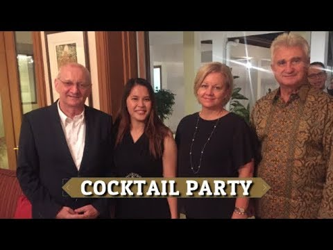VLOG - COCKTAIL PARTY AT CZECH REPUBLIC AMBASSADOR'S RESIDENCE