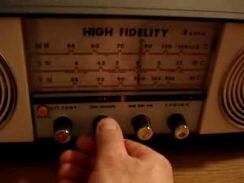 Vintage Fuji Denki Transistor Radio