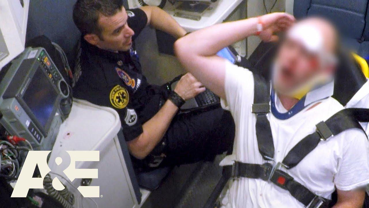 Nightwatch: Drunk Patient Under Arrest, Tries To Trick Dan (S3) | A&E