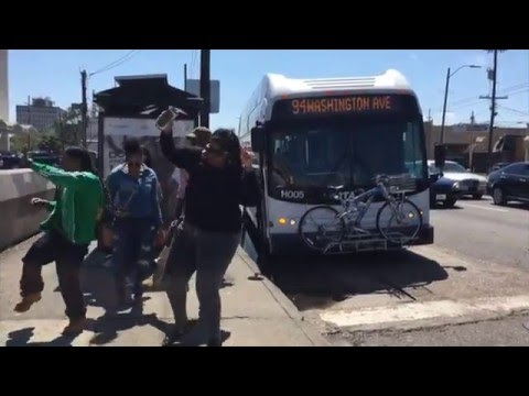 Bus Stoppin at Bus Stops - The Second Line Show