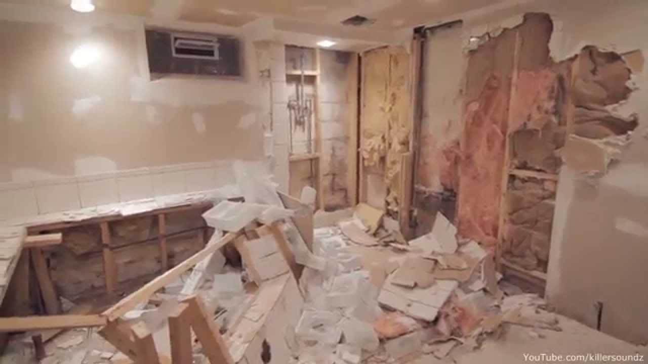 Remodel My Kitchen Corner Table With Bench How Not To Finish A Basement, Epic Remodeling Fail - Youtube