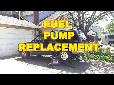 1994 Ford Explorer Fuel Pump Replacement