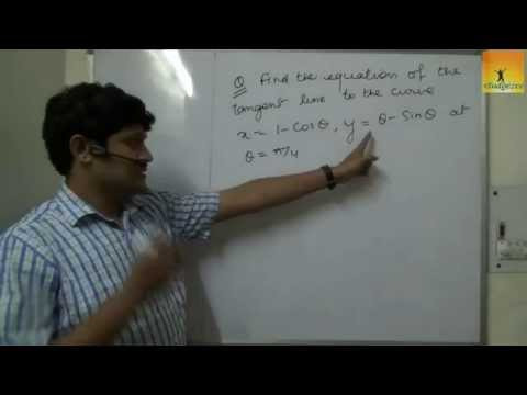 Class 12 XII Maths Differentiation Tangents and Normals Part2