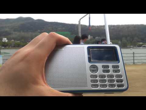 Shortwave radio reception at Suseong lake, Daegu, Korea - CNR 1, 17890khz (23rd April 2015)