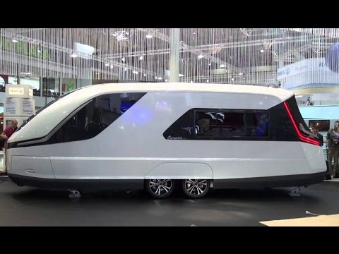 Caravan Design Caravans Of The Future YouTube