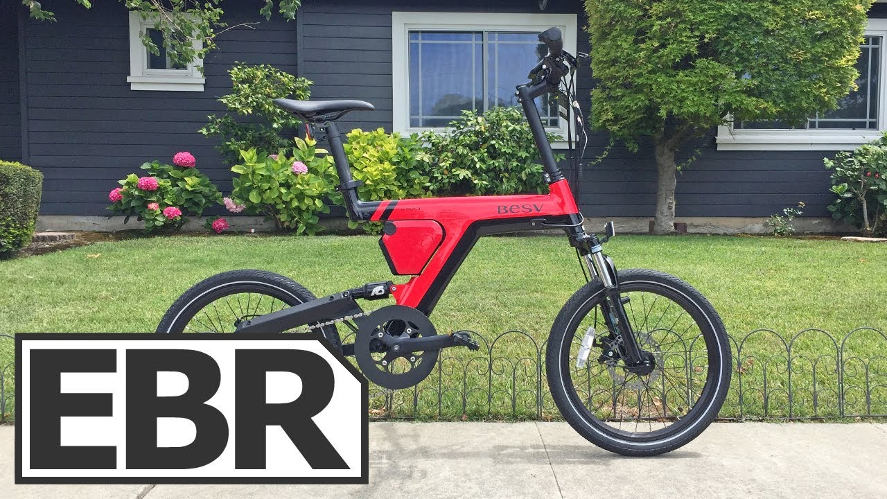 Besv Psa1 Video Review Comfortable Compact Electric Bike