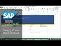 SAP Function BAPI Scripting - Changing SD Sales Orders from Excel