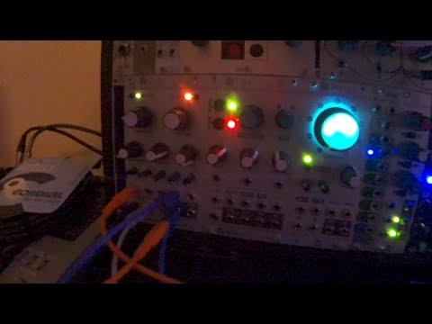 Mutable Intruments Rings Strings/Chord demo - eurorack modular synth