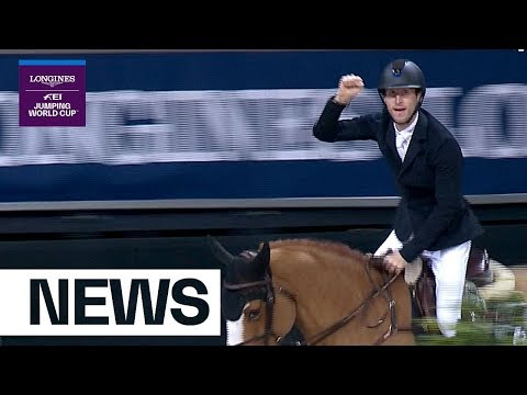 Pieter Devos wins a mile ahead in Stuttgart | Longines FEI Jumping Nations Cup™