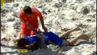 Пляжный Футбол ЧЕ 2013 (Украина — Швейцария)(Сборная Украины вышла вперед со счетом 4:3 - победа Украины, которая финиширует второй. УраАа ребята! http://bigworld..., 2013-05-27T23:14:25.000Z)