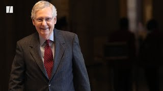 Mitch McConnell Laughs Off Coronavirus Relief