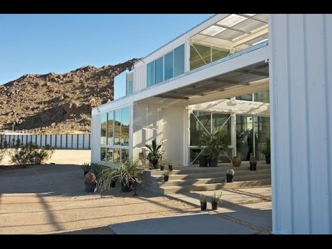 Amazing shipping container homes hybrid house by ecotech youtube - Amazing shipping container homes ...