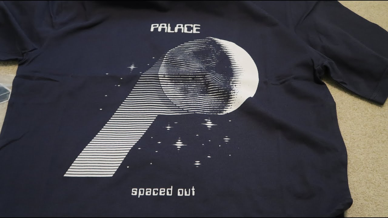 96deaa1a86db Palace Skateboard SS18 Pickup Unboxing P-Moon + Surkit Tee - YouTube