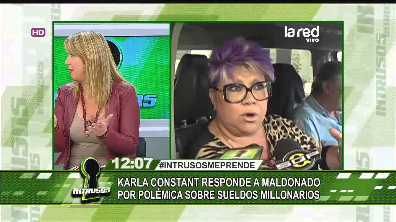 Karla Constant responde a Paty Maldonado por sueldos ...