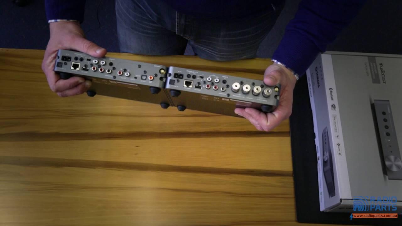 Yamaha Expand Range Wxc 50 Wxa 50 Unboxing Video