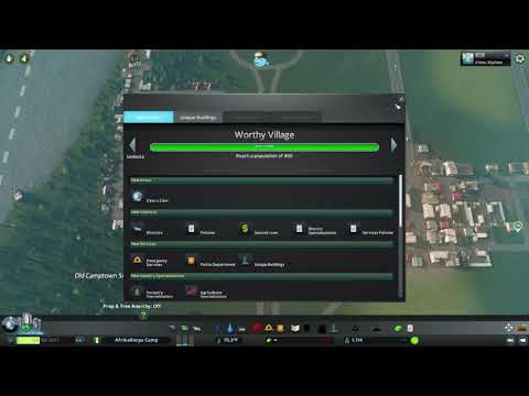 (2) Cities:Skylines AfrikaKorps Camp!- Fire, Police, and Industry Expansion! |