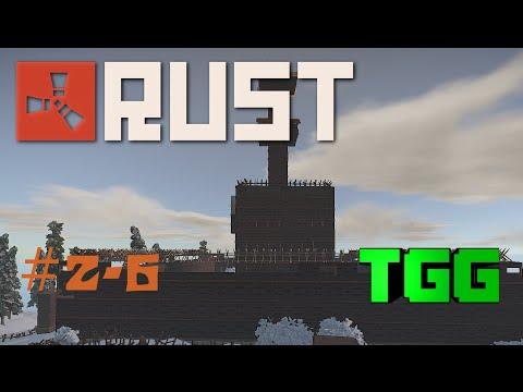Rust- Youtuber Clan Wars Ep:6 Base Defense Catraz Vs. BB & Friends Part 1