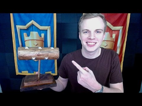 REAL LIFE LOG! Clash Royale Beast Log Deck