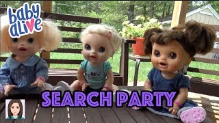 Baby Alive Gets KIDNAPPED! The Search Party