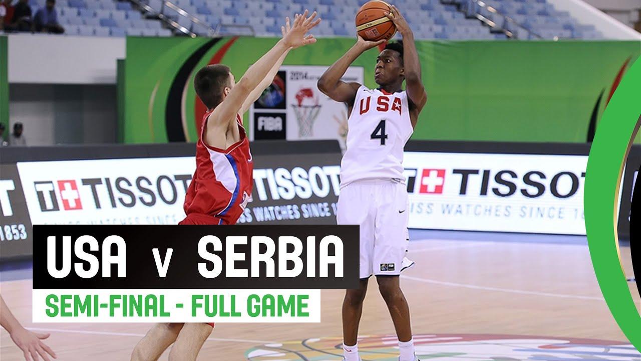 USA v Serbia - Semi-Final Full Game