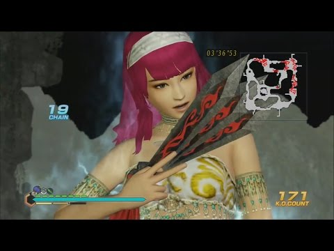 Dynasty Warriors 8 Empires Edit Mode - Wired Gloves Gameplay