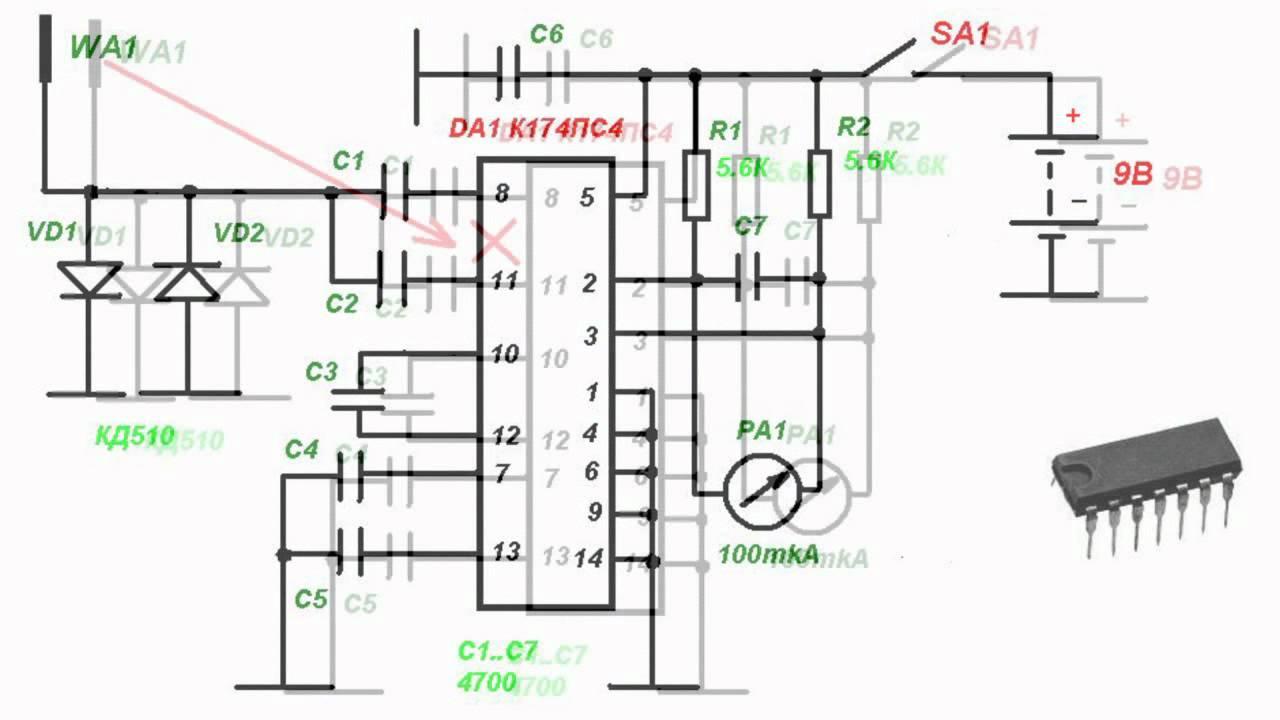 K174ps4 Chip Application Circuitry Youtube Audio Spectrum Analyzer Circuit 400led Led
