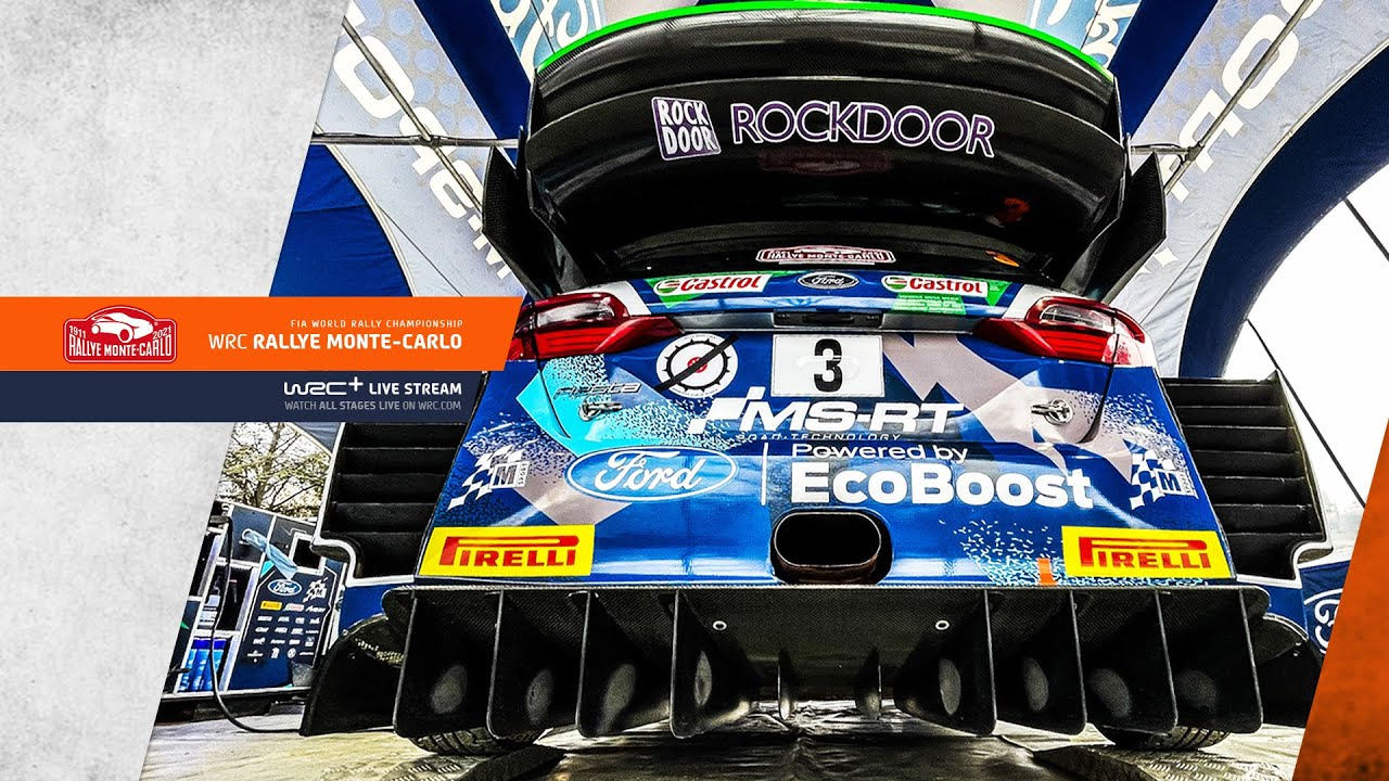 WRC Rallye Monte-Carlo 2021 - Official Start LIVE