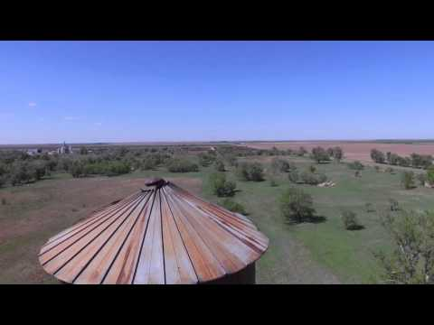Army Air Force Base-Aerial pictures of south west Kansas