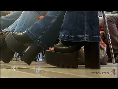 Public High Heels Boots 039v T15 Black Enamel 001 (FULL VERSION)