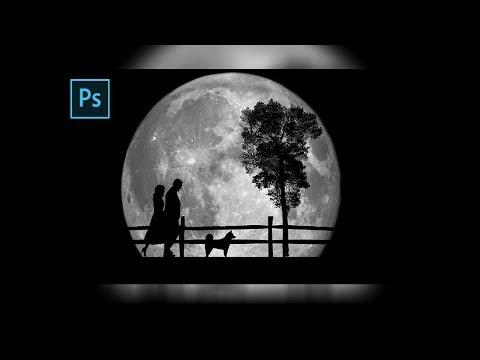 Photoshop Tutorial   [ Moonlight ] thumbnail