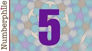 5 and Penrose Tiling - Numberphile