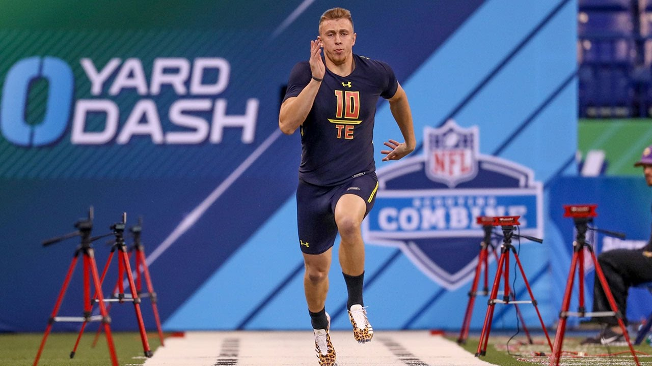 George Kittle 2017 Combine Workout