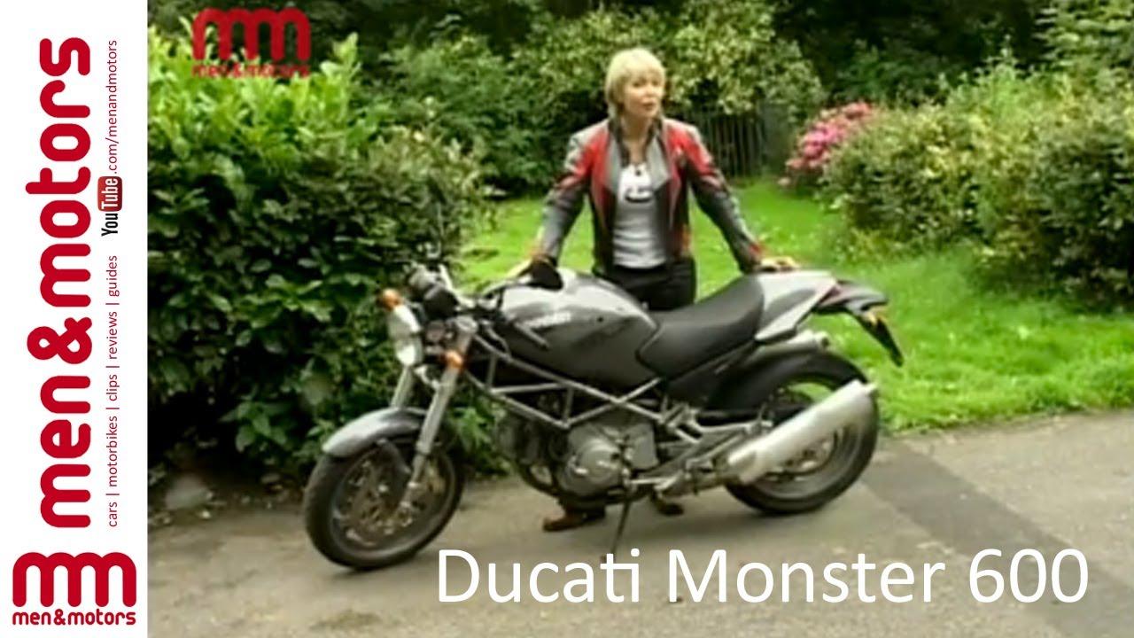 ducati monster 600 review (2003) - youtube