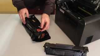 How To Replace Toner Cartridge CE278A/CRG128 To HP/Canon Printers(, 2013-11-15T19:00:21.000Z)