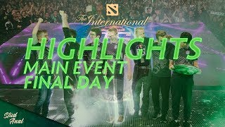 Highlights TI8 Main Event. Final Day