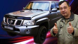 [Автообзор] Nissan Patrol. Большой, железный и приятный на ощупь.