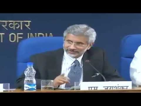 Media Briefing by MEA, MInistry of Defence and MHA