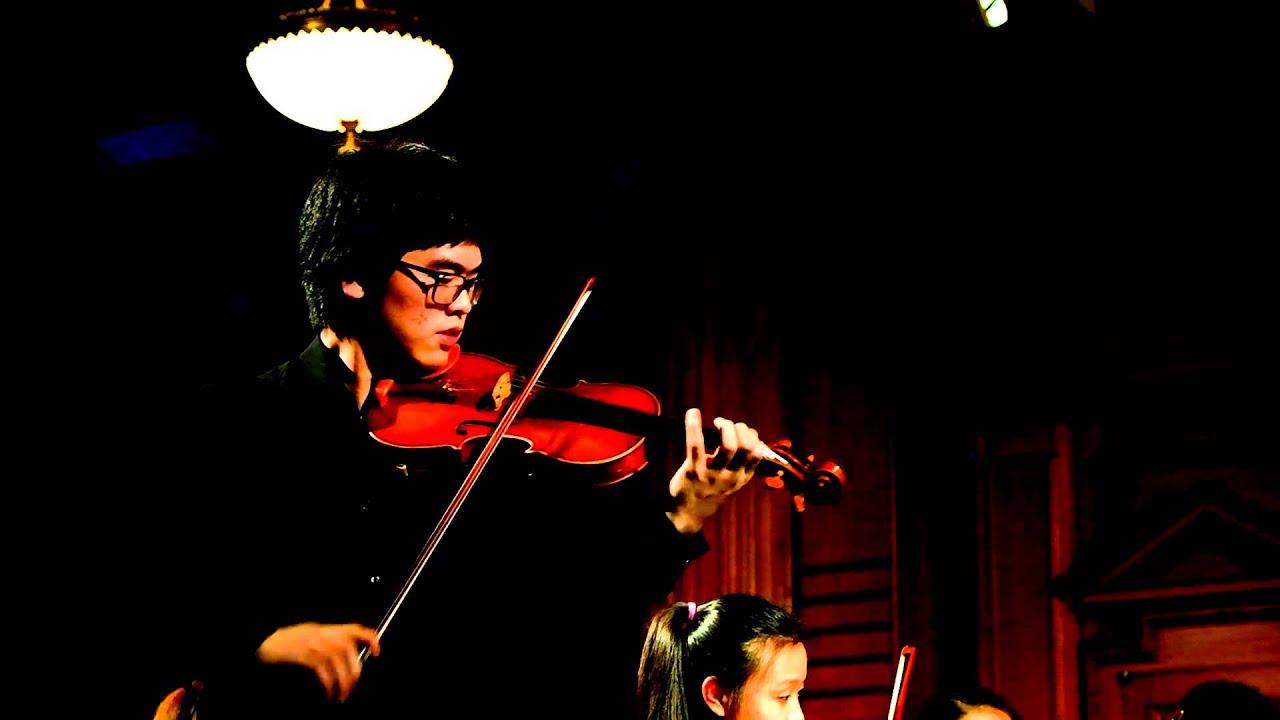 Sibelius Violin Concerto - 3rd Movement (John Lim)