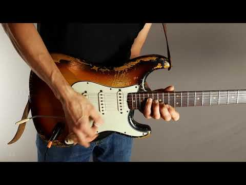 Pure clean singlecoil guitar sound without effects