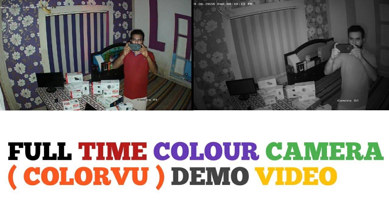 Hikvision Colorvu Camera Demo | Malayalam | 8K TECH
