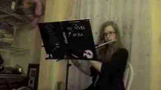 "Phantom of the Opera on C Flute: ""All I Ask of You"""