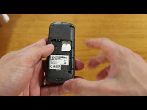 Samsung GT-E1200M SIMカード抜き差し
