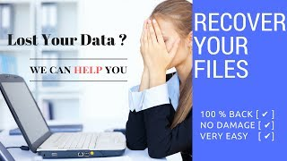 How to Recover my Deleted Files [100% Working]